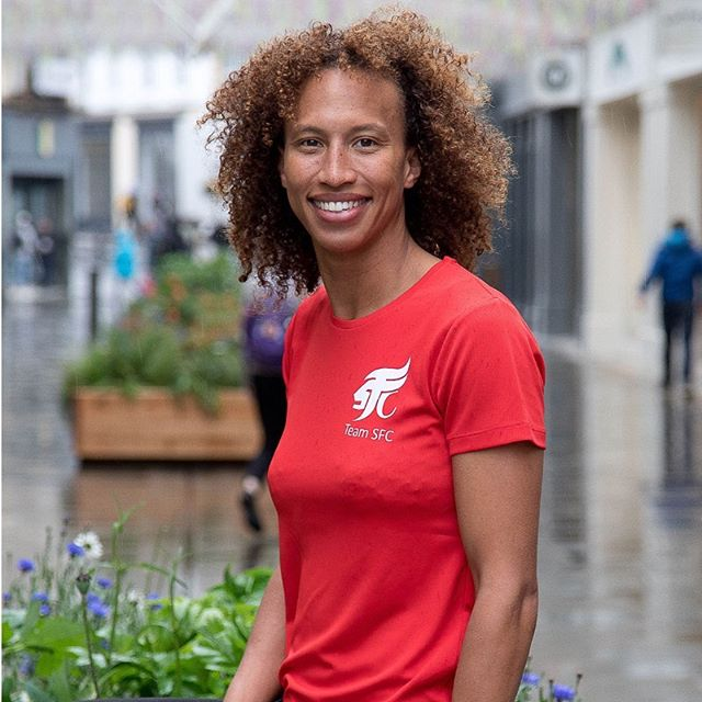 🌹 Serena joins the team! We are delighted to announce that England Netball captain Serena Guthrie will be joining the charity in October.