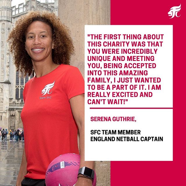 🔴 England Netball captain Serena Guthrie discusses her decision to join us at @SportingFamilyChange!