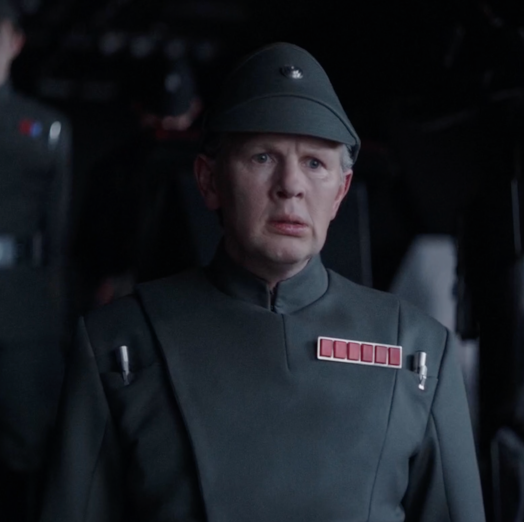 RICHARD CUNNINGHAM IN ROGUE ONE - Richard Cunningham plays General Ramda in Rogue One: A Star Wars Story.