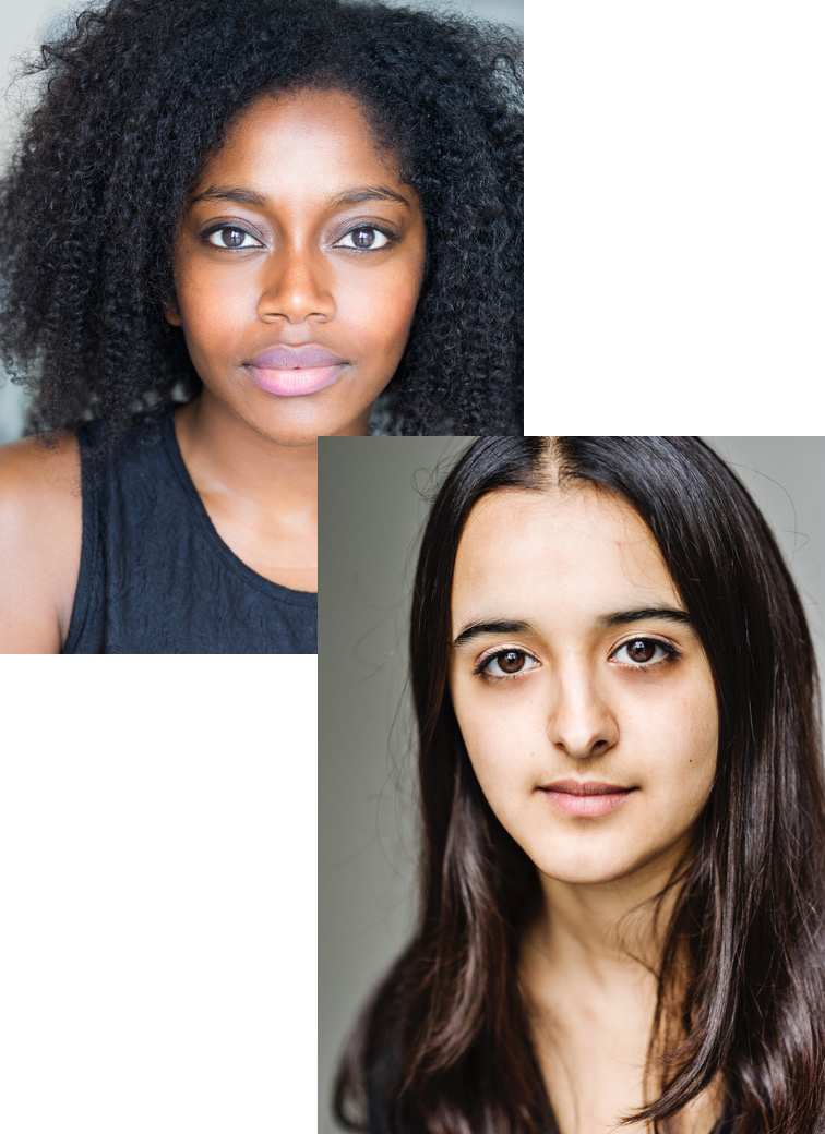 Aretha Ayeh and Humera Syed in Netflix's The Stranger. - Aretha and Humera are both recurring characters in the Netflix adaptation of Harlan Coben's Best Selling Novel 'The Stranger'.