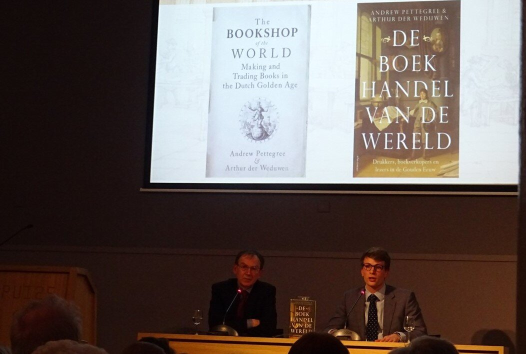 The launch of  The Bookshop of the World  in Amsterdam, Monday 18 March
