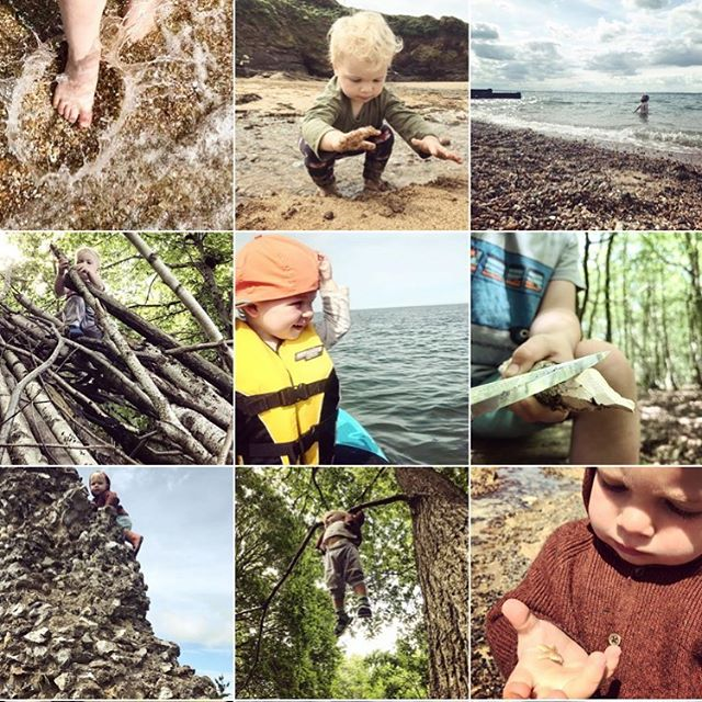 Follow @river.rascal for some exciting new content coming 1st August! We love championing creative parents, and what better creativity than being adventurous 🍁 🦀 🤸🏻‍♀️