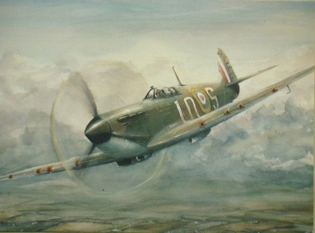 Spitfire power painted in watercolours.jpg