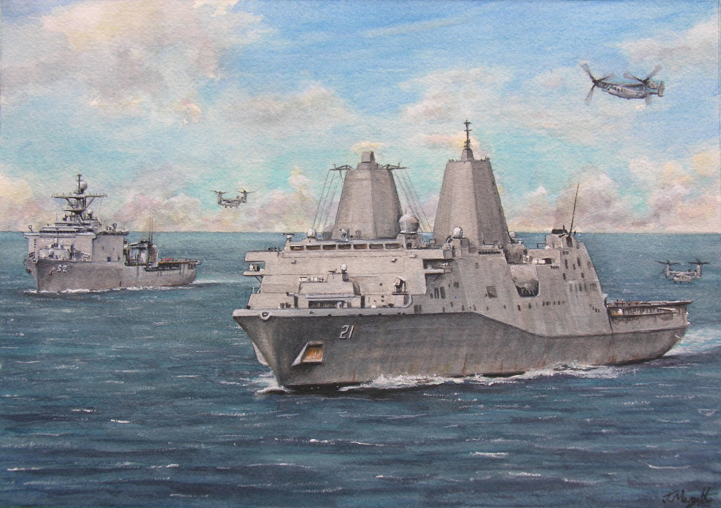 USS New York with USS Pearl Harbor.jpg