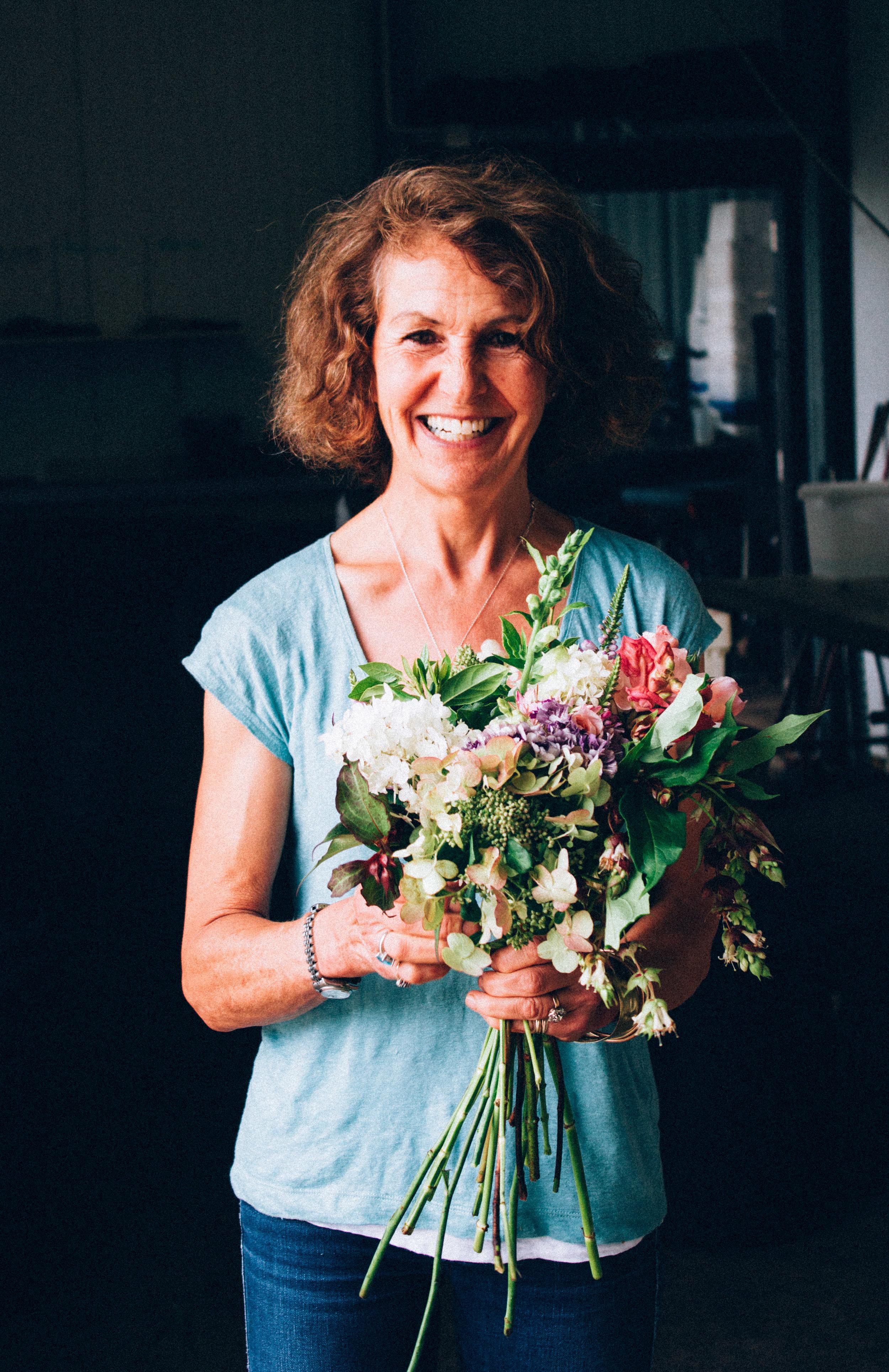 Rosebie Moreton - The Real Flower Co