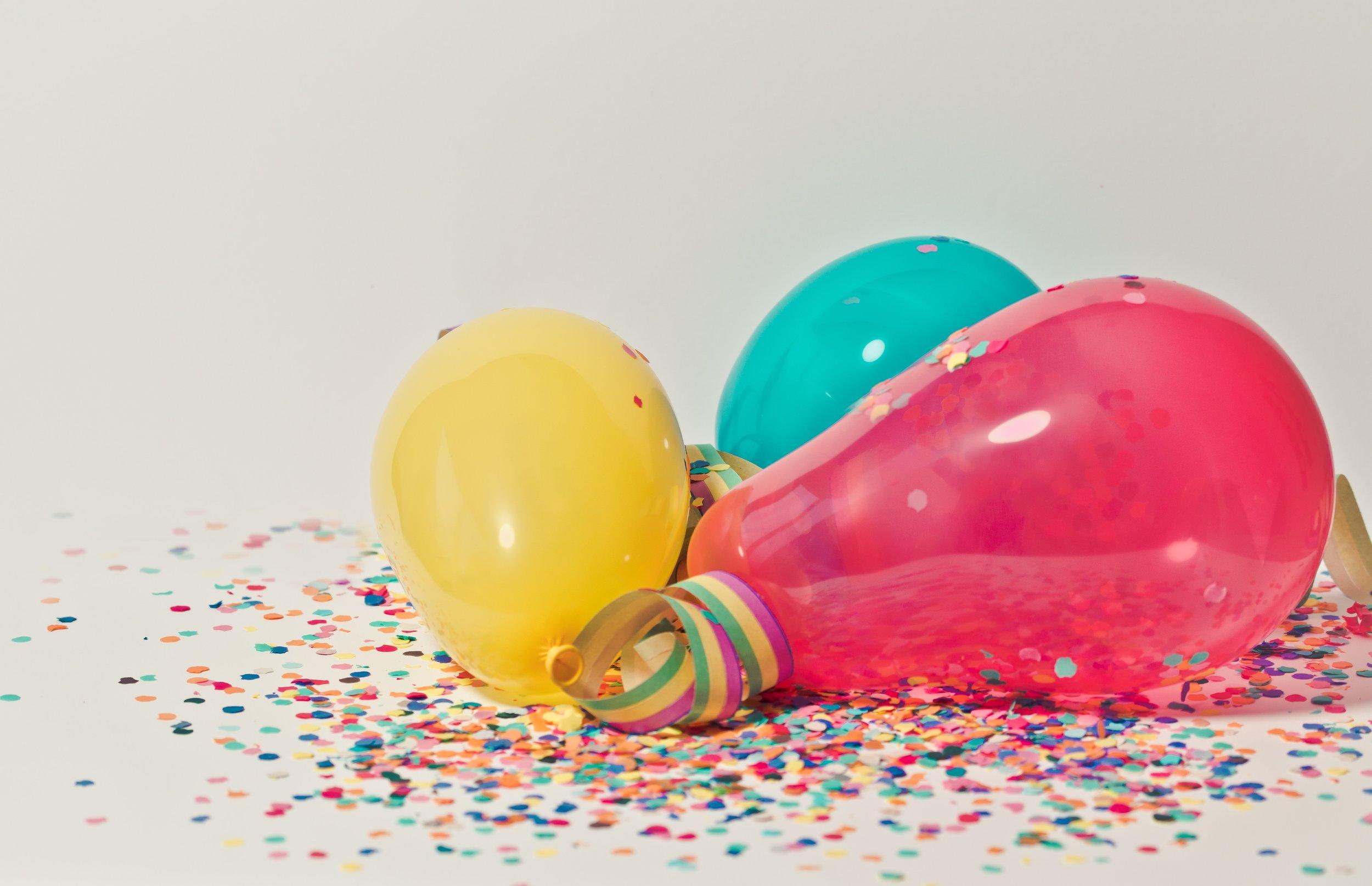 - Birthday Parties