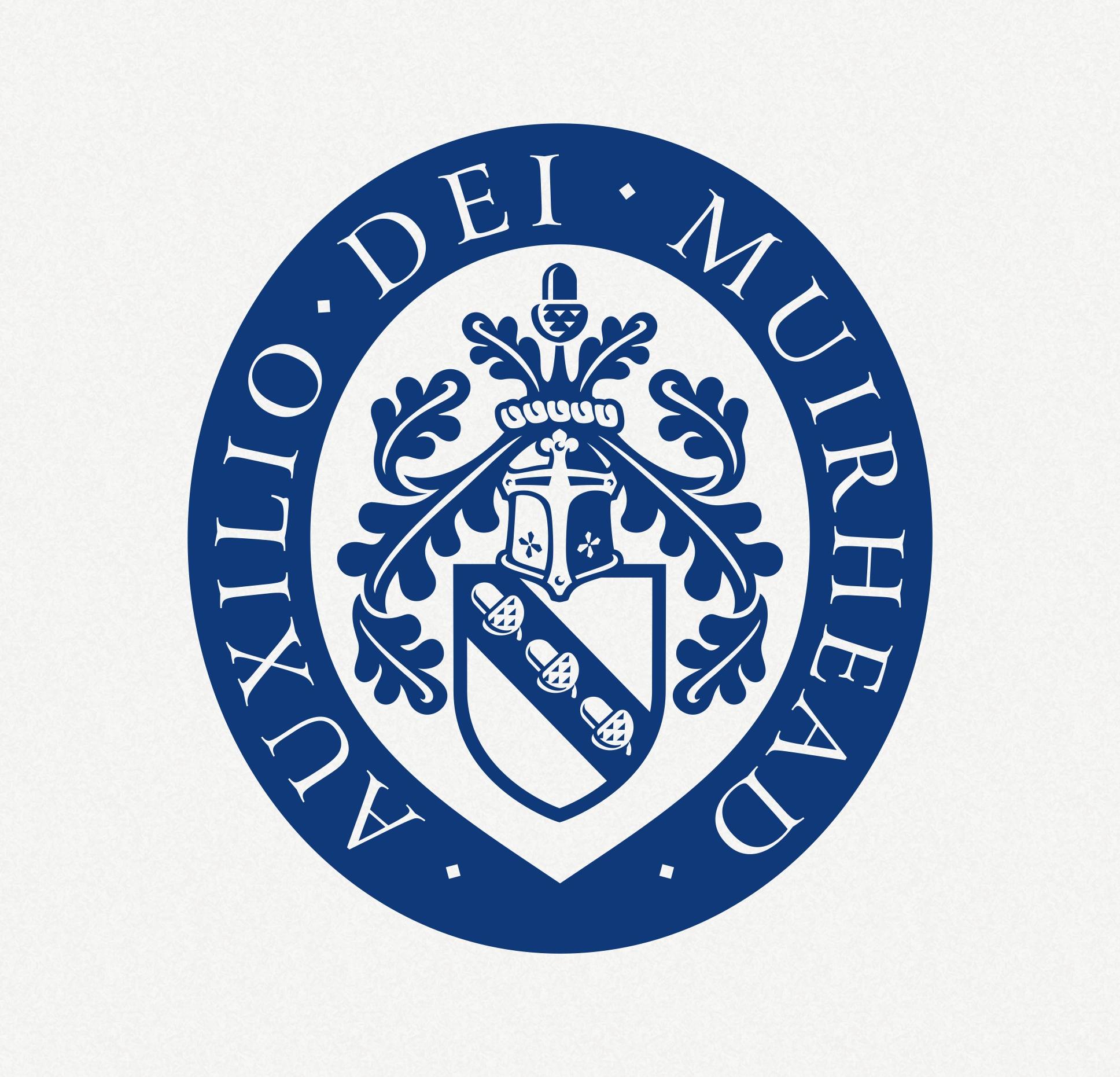 Personal insignia logo in the crest shape.   Osobni logotip u obliku grba.