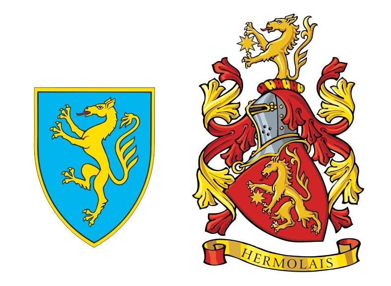 Panther Heraldry Crest Logo Design Dizajn I Izrada Logotipa Random Sparks Blog Slucajne Iskrice
