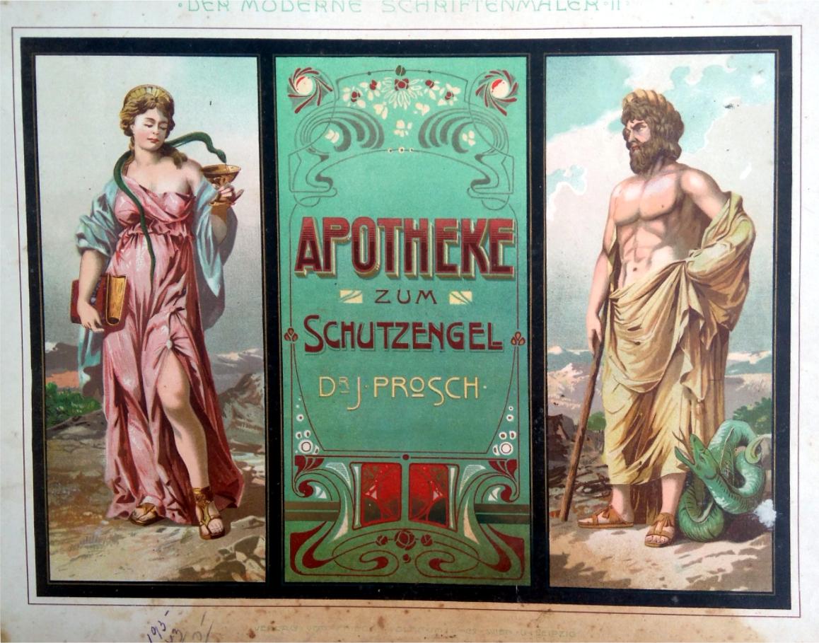 Advertising sign - Der praktische Schildermaler