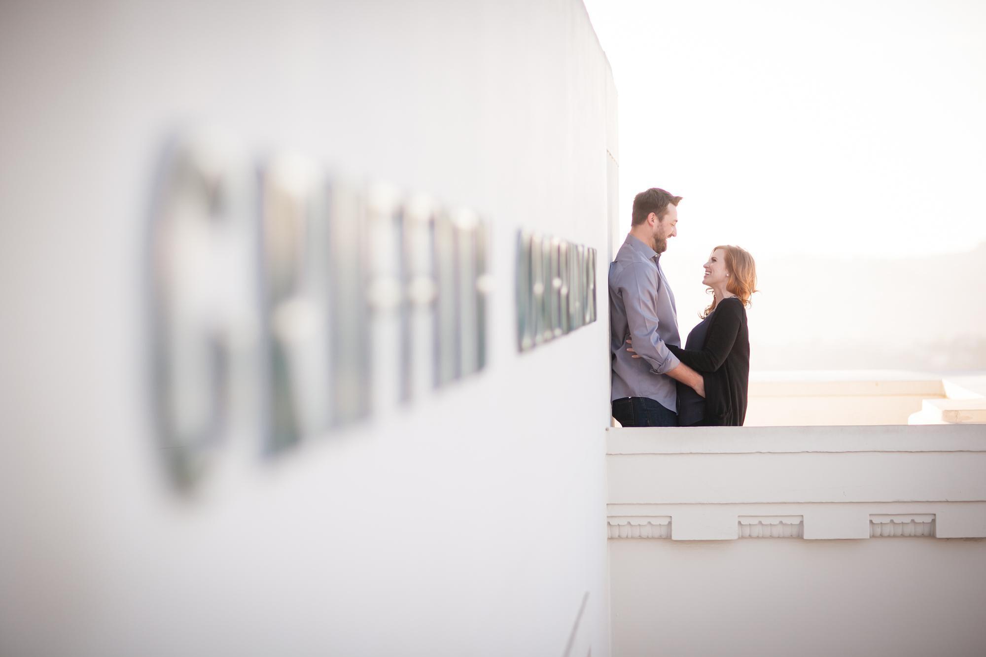 Griffith Observatory Engagement | Miki & Sonja Photography | mikiandsonja.com