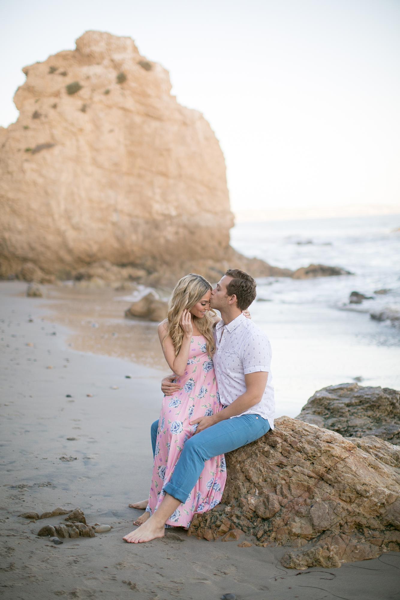 El Matador Beach Engagement | Miki & Sonja Photography | mikiandsonja.com