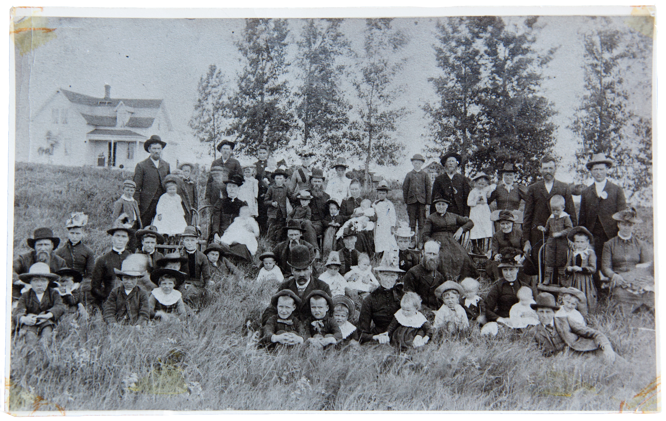Brothers, sisters and cousins that came to America from Invik, Norway and settled in the Eastern part of South Dakota on Homesteads. Rural Madison, South Dakota 1891