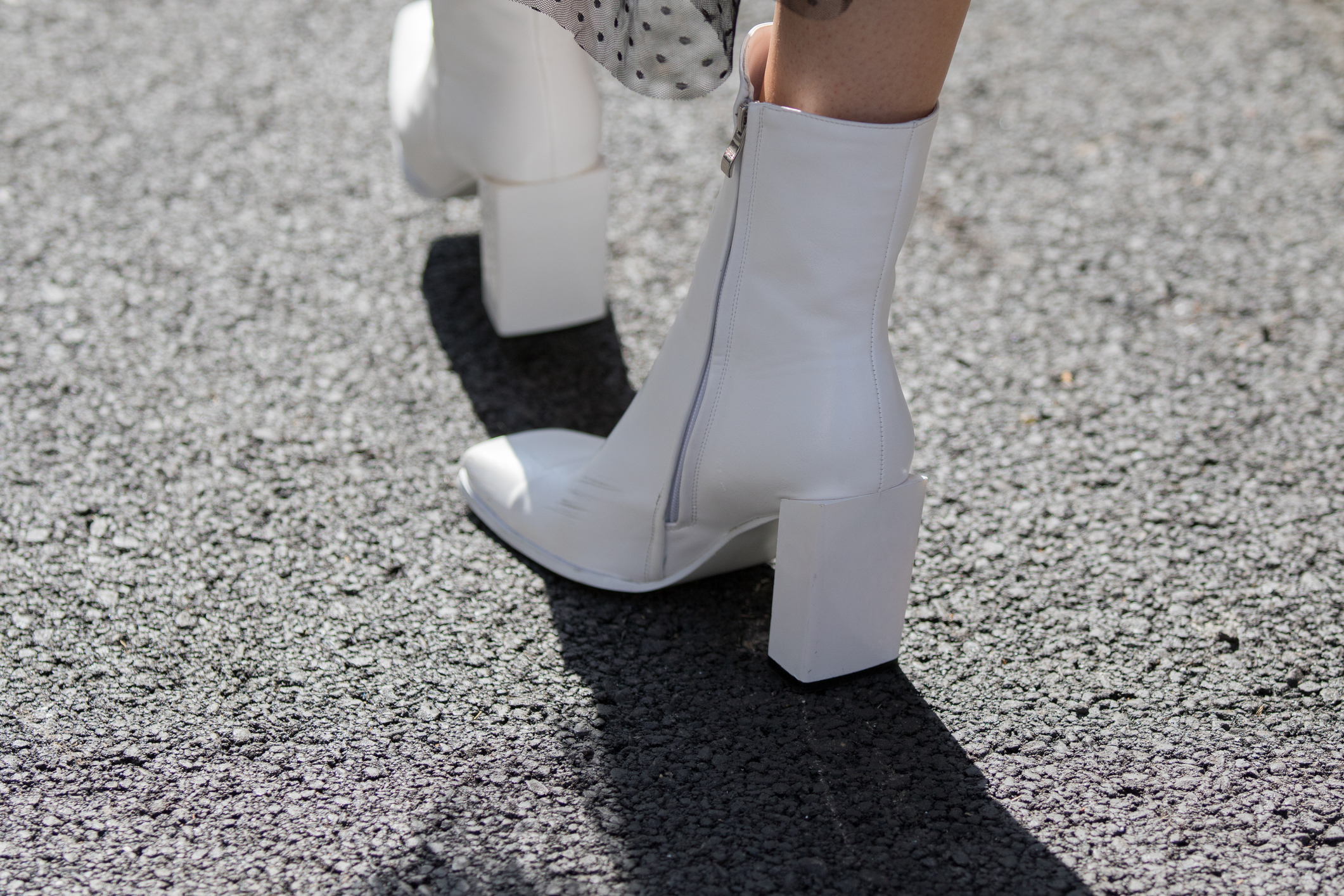 White boots - By now I'm sure you have seen boots like this either online or on celebrities. These white boots are a huge trend for 2018 Fall. Take me back to the 60's. I love how these look on other people but I won't be purchasing these this fall . If you can pull these off more power to you SIS! Rock it girl! I usually am all about trying what trends are in but I don't think I could pull these off. You can easily wear these with several different outfits this fall. If you decide to purchase some I have listed a few from one of my favorite shoe websites to shop from. P.S. today they're having a sale.1. Impo Morris Boot2. Marc Fisher Jayli Chelsea Boot3. Steve Madden Femi Boot (on sale right now)