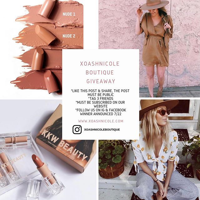 Giveaway 🚨. Must follow all rules. Winner will be announced 7/22/19 . Good luck 🎉 #westernstyle #westernfashion #boutiqueclothing #boutiquefashion #lackofcolor #kkwbeauty #bohostyle