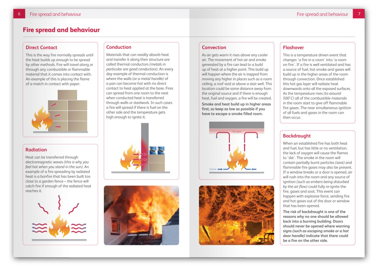 We give each learner on every course a free Fire Safety Manual. -