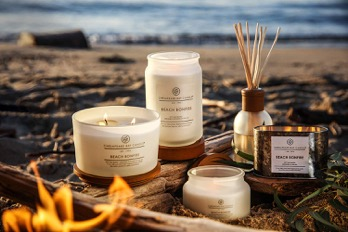 A selection of candles from Chesapeake Bay Candle