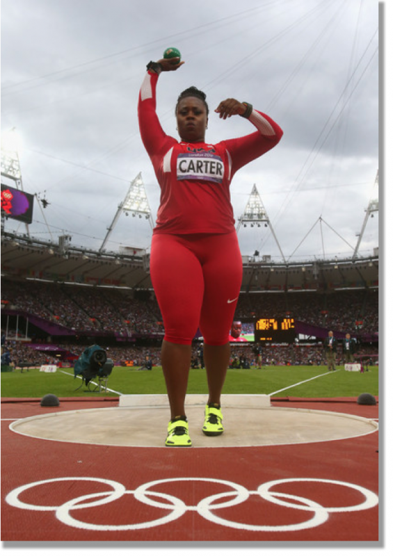 Michelle Carter Athlete >> Michelle Carter Shot Putting And Still Cute The Cute