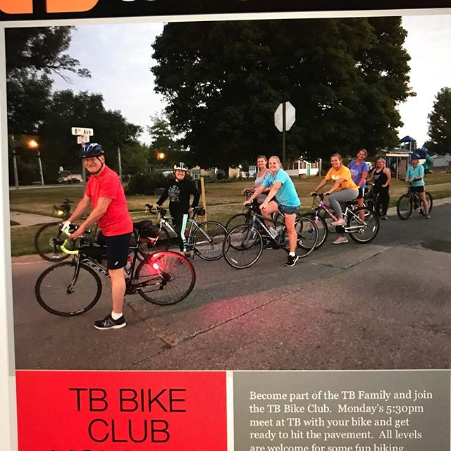 TB Bike Club Monday's 5:30pm