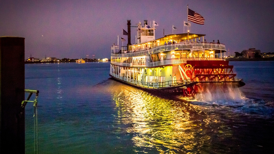 Jazz Brunch Cruise & Mardi Gras Experience - The perfect combination, Jazz and brunch on the water. End your brunch excursion with a look inside New Orleans Mardi Gras tradition.
