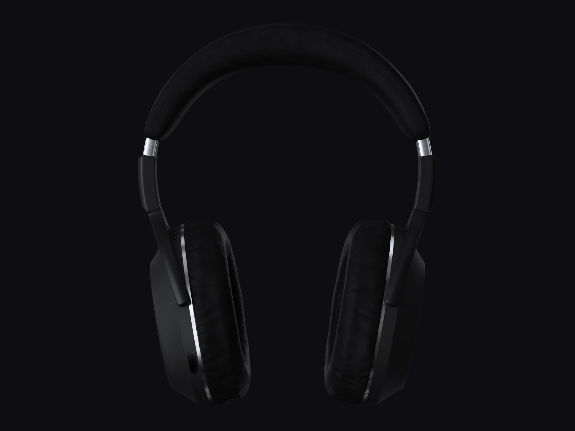 Front shot of the headphones
