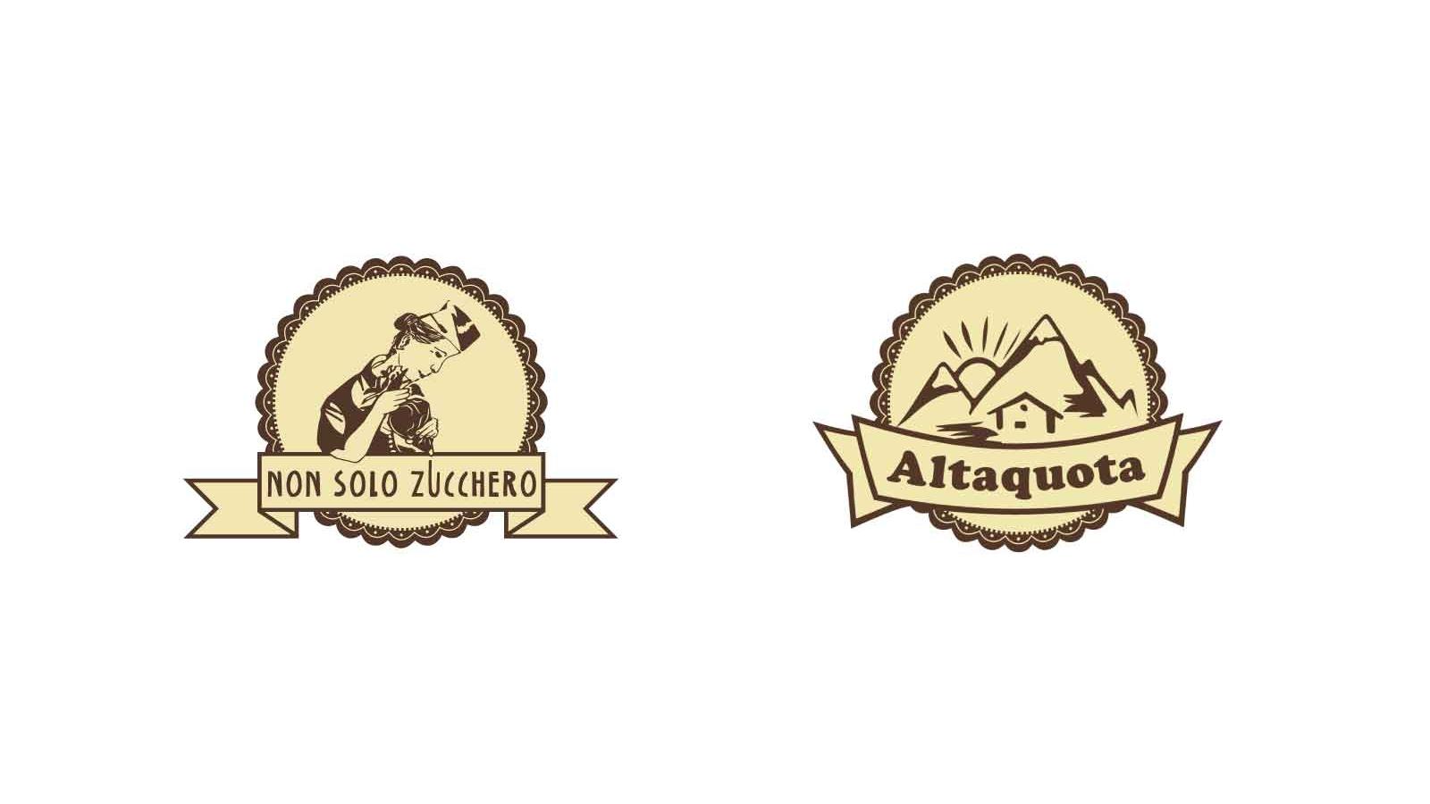 A sinistra il logo Non Solo Zucchero, anch'esso frutto di una mia progettazione grafica del 2015.   (scopri di più →)