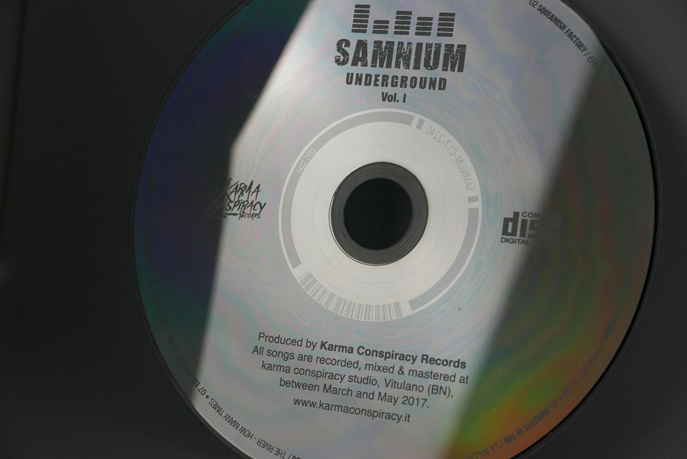 Cd-label samnium undergrund