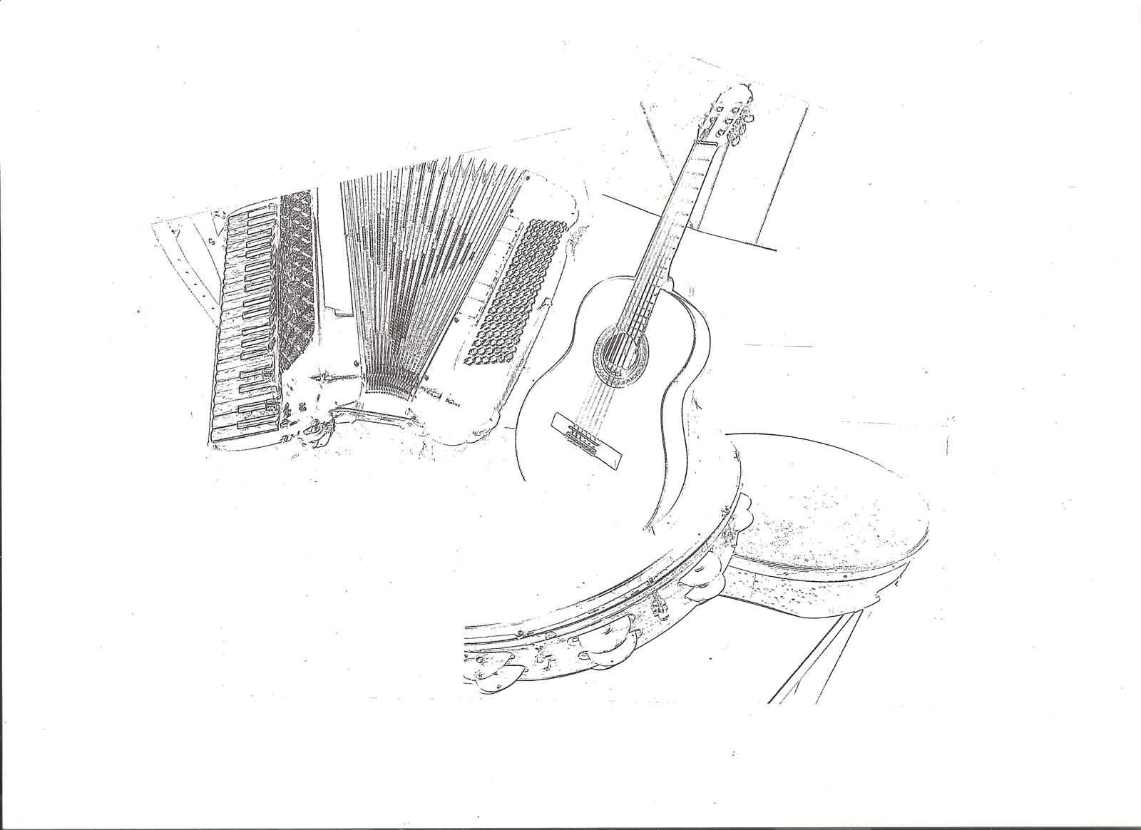 ↑  Fig. 2  Mario Zampelli, bozze dei disegni di copertina.