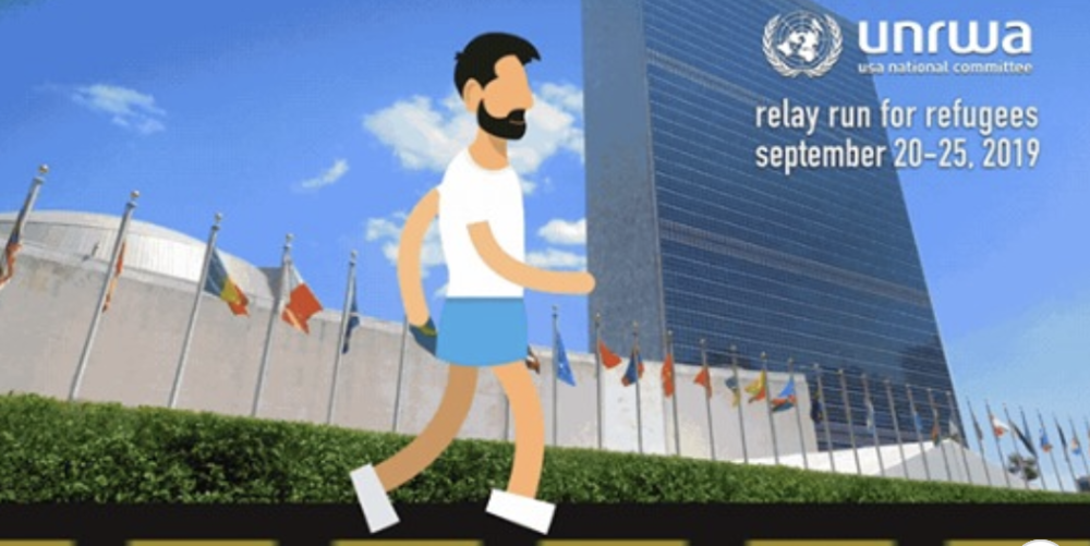 UNRWA-USA Relay Run for Refugees