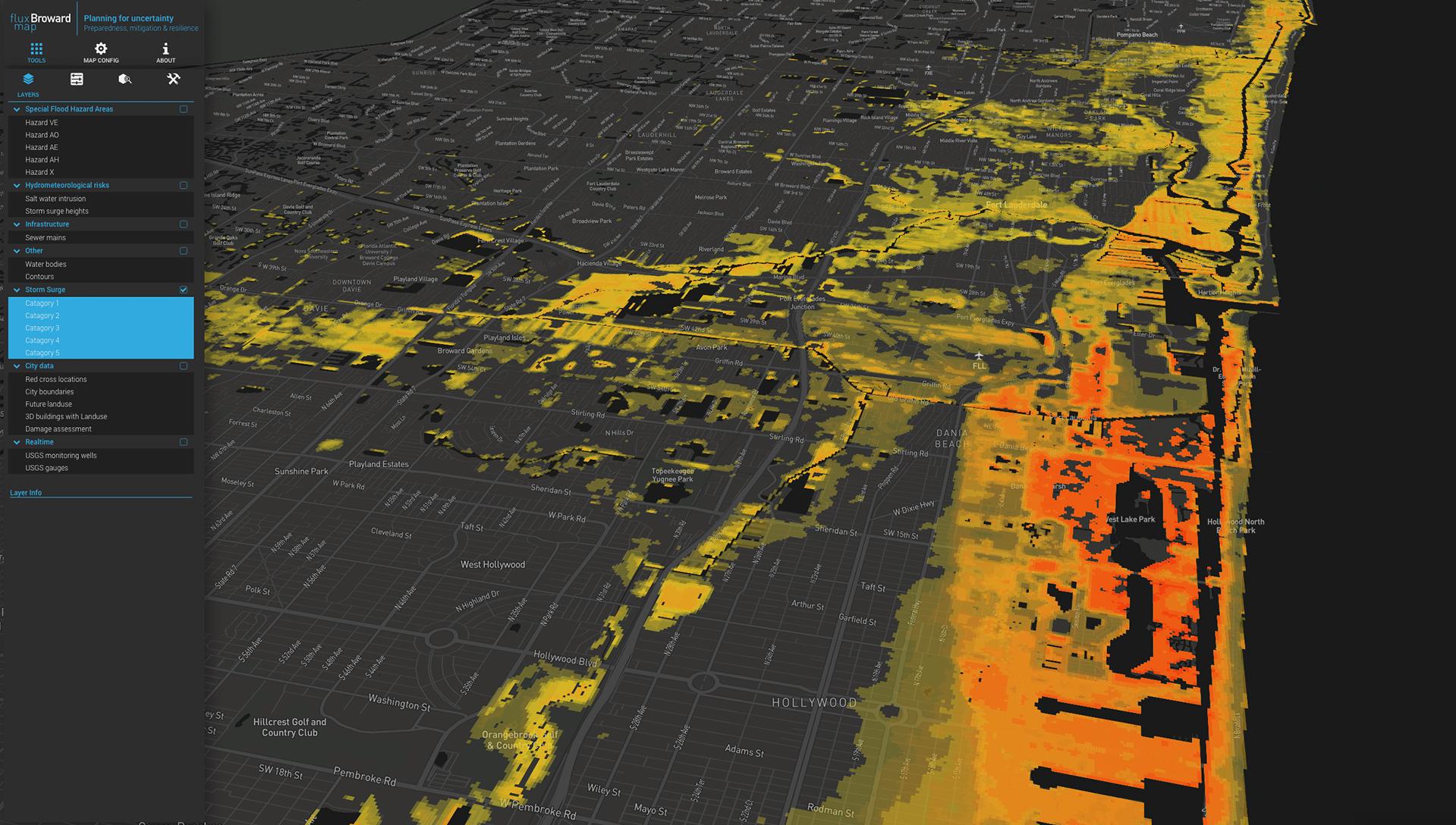 Visualizing storm surge vulnerability