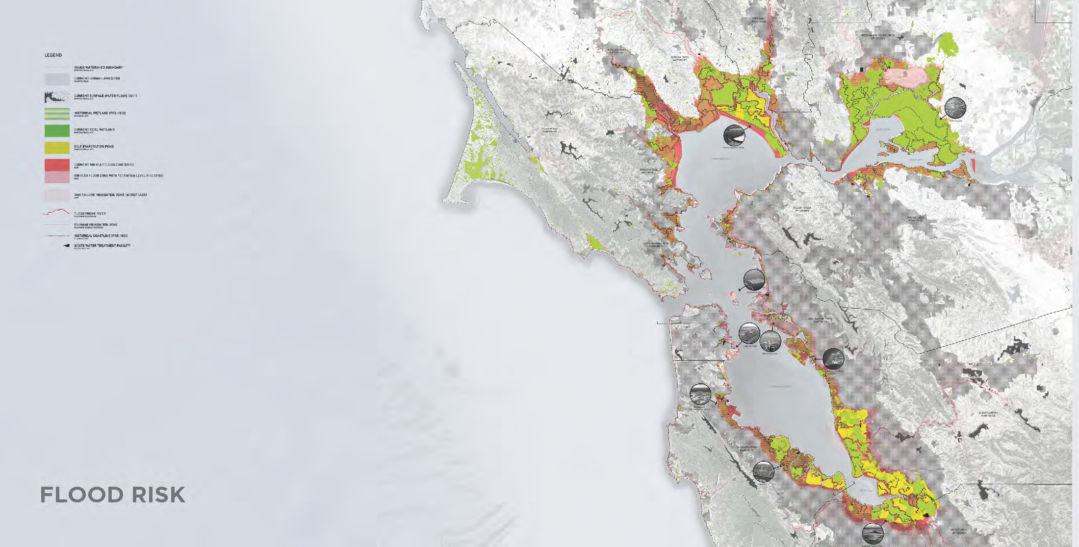 Flood risk mapping of bay area - David Moses, Phebe Dudek, Kyle Barker
