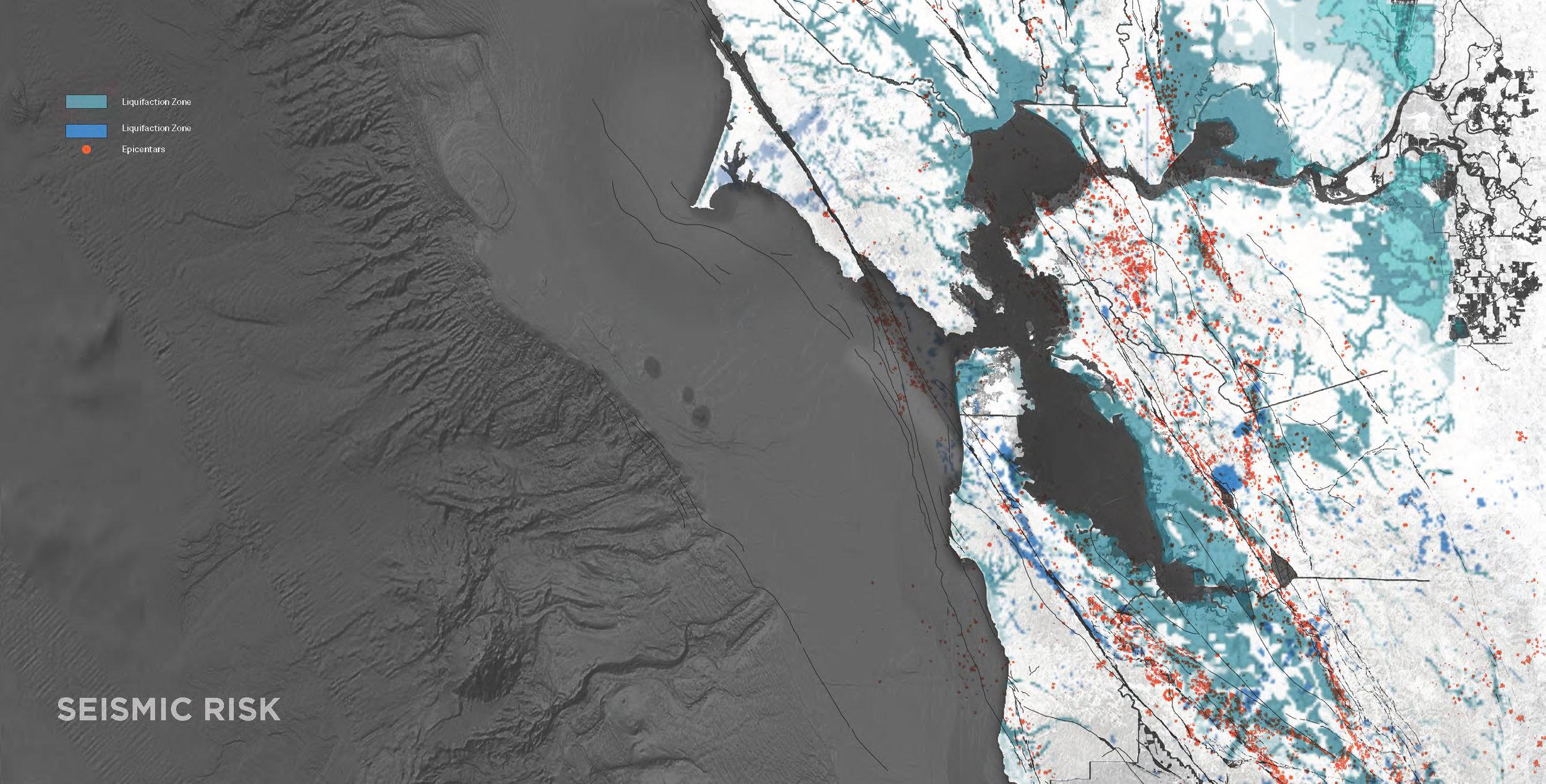 Earthquake risk mapping of bay area - SunMin Hwang, Fei Hong, Mingxi Zou