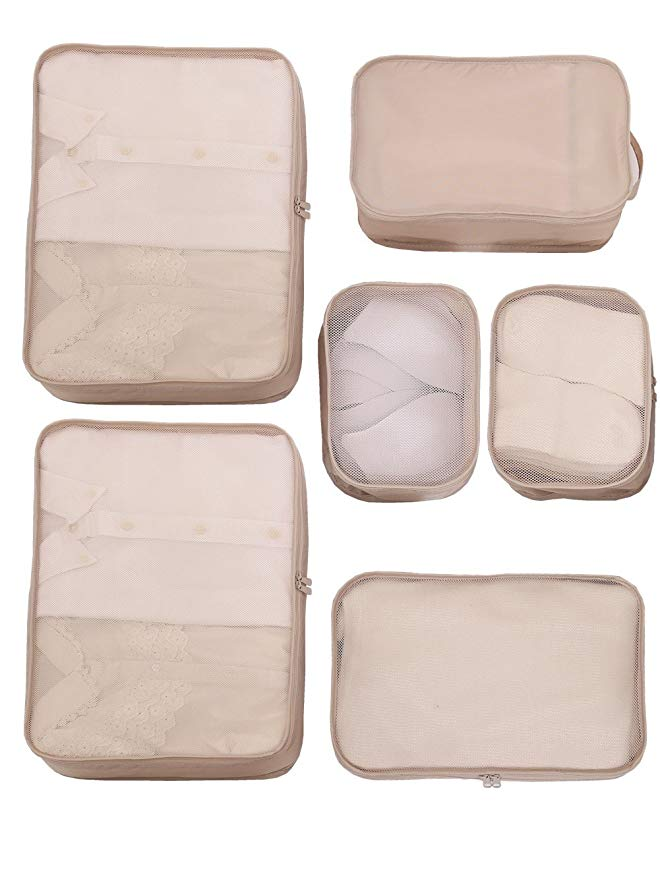 3. Packing Cubes - Lightweight Travel Packing Cubes
