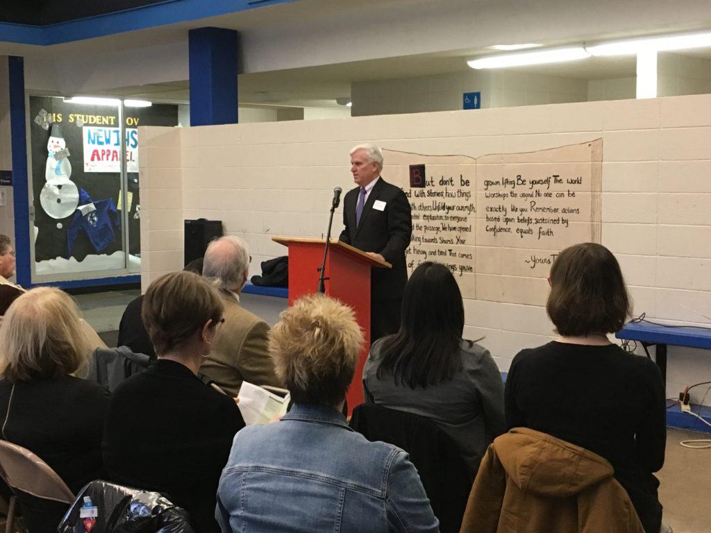 Launch of school-based health clinics in Eugene, Oregon