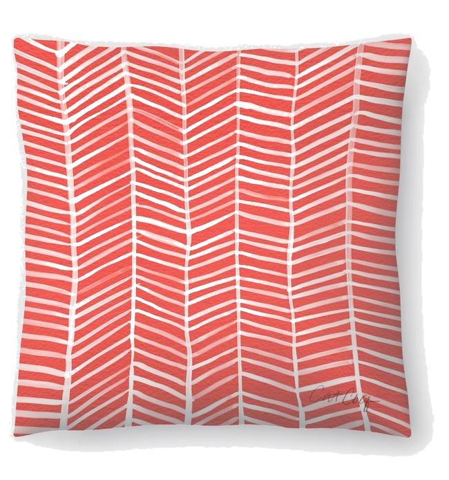 Wayfair coral pillow.png