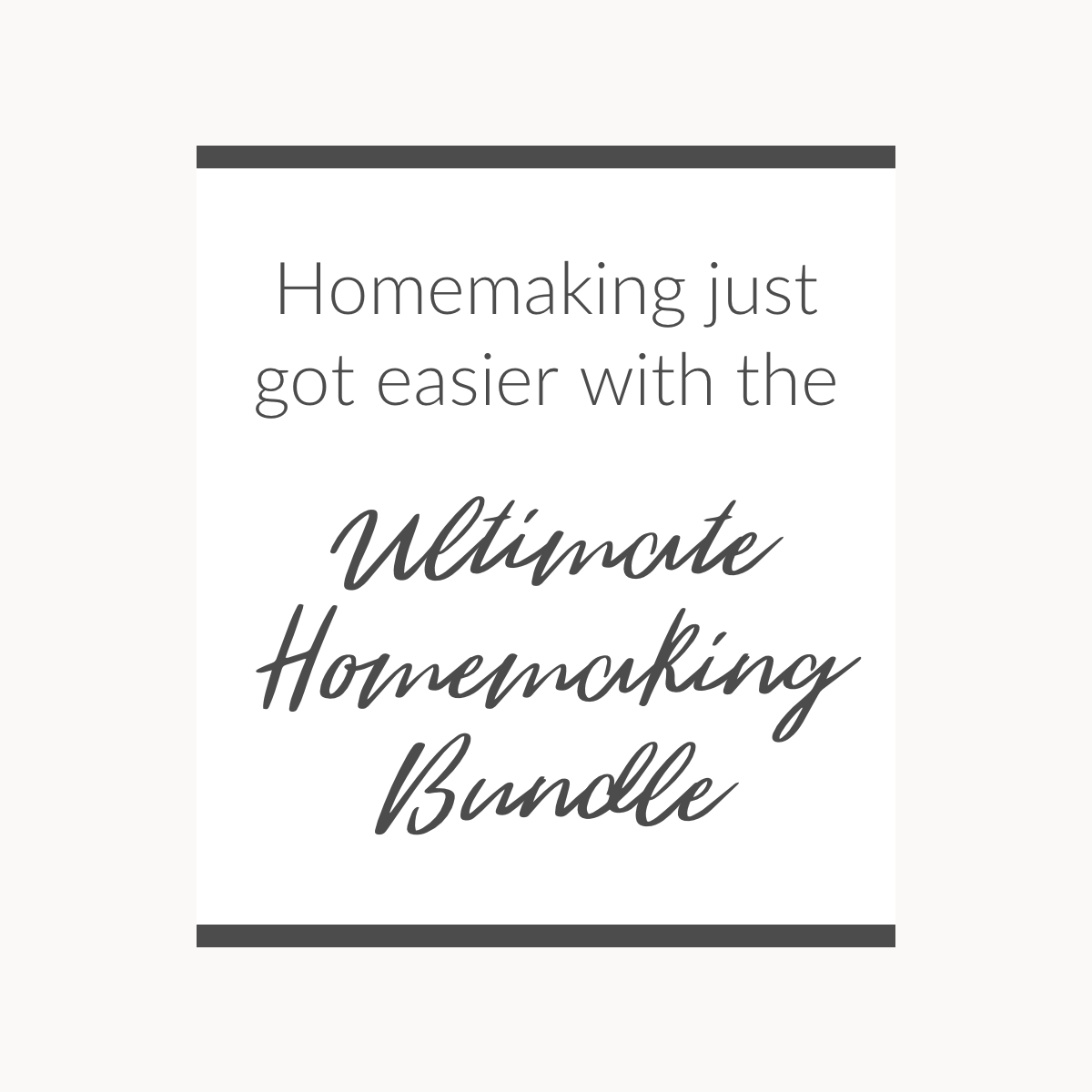 Homemaking just got easier... - 1200 x 1200.png