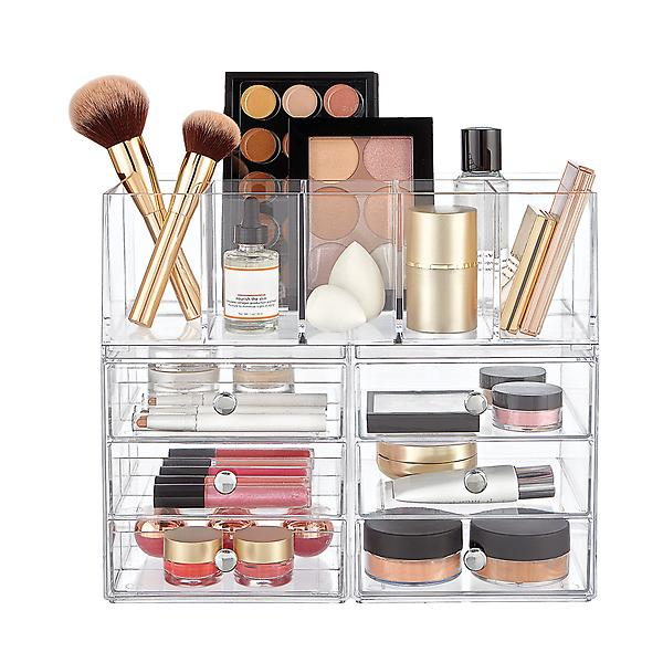 CONTAINER STORE MAKEUP ORGANIZER