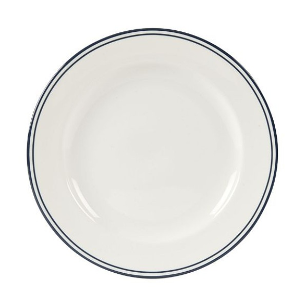 Blue Rimmed Plate