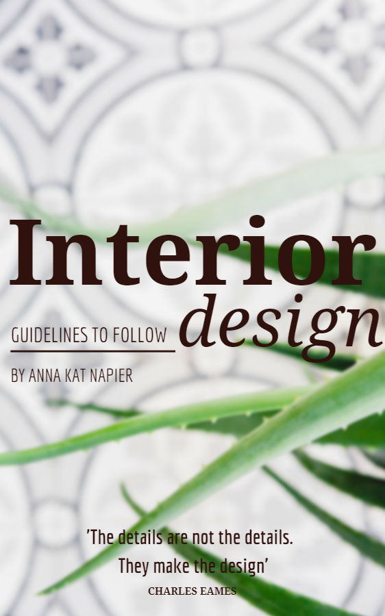 Interior Design Guidelines