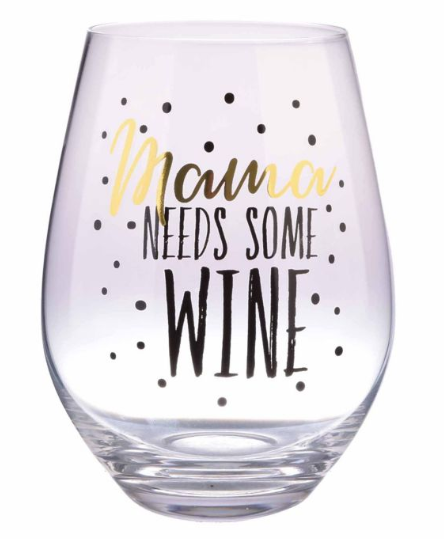 Wine glass for Mom