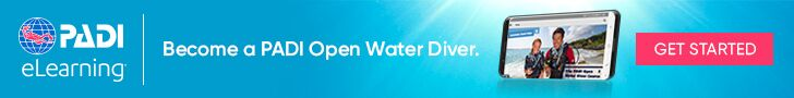 Click the banner above to begin the e-learning portion of your open water course (This option is in lieu of the deposit for e-learning you will still need to pay the balance of the course fee and contact us for scheduling)