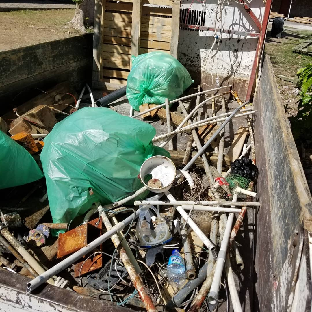 marine debris salt dominica adopot a dive site pvc marine debri ocean plastics .jpg