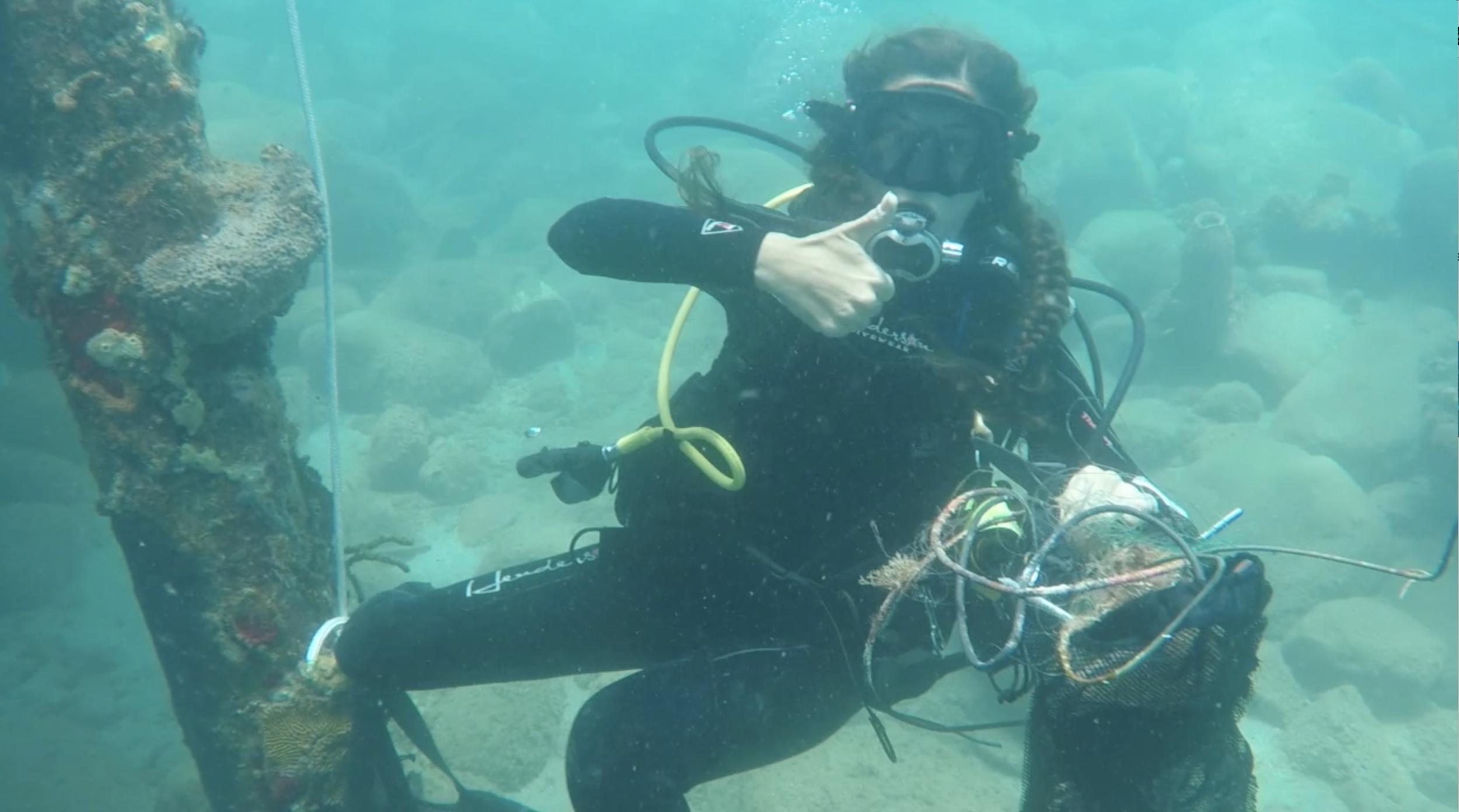 kayla going up salt scuba dive dominica dive against debris padi project aware .png