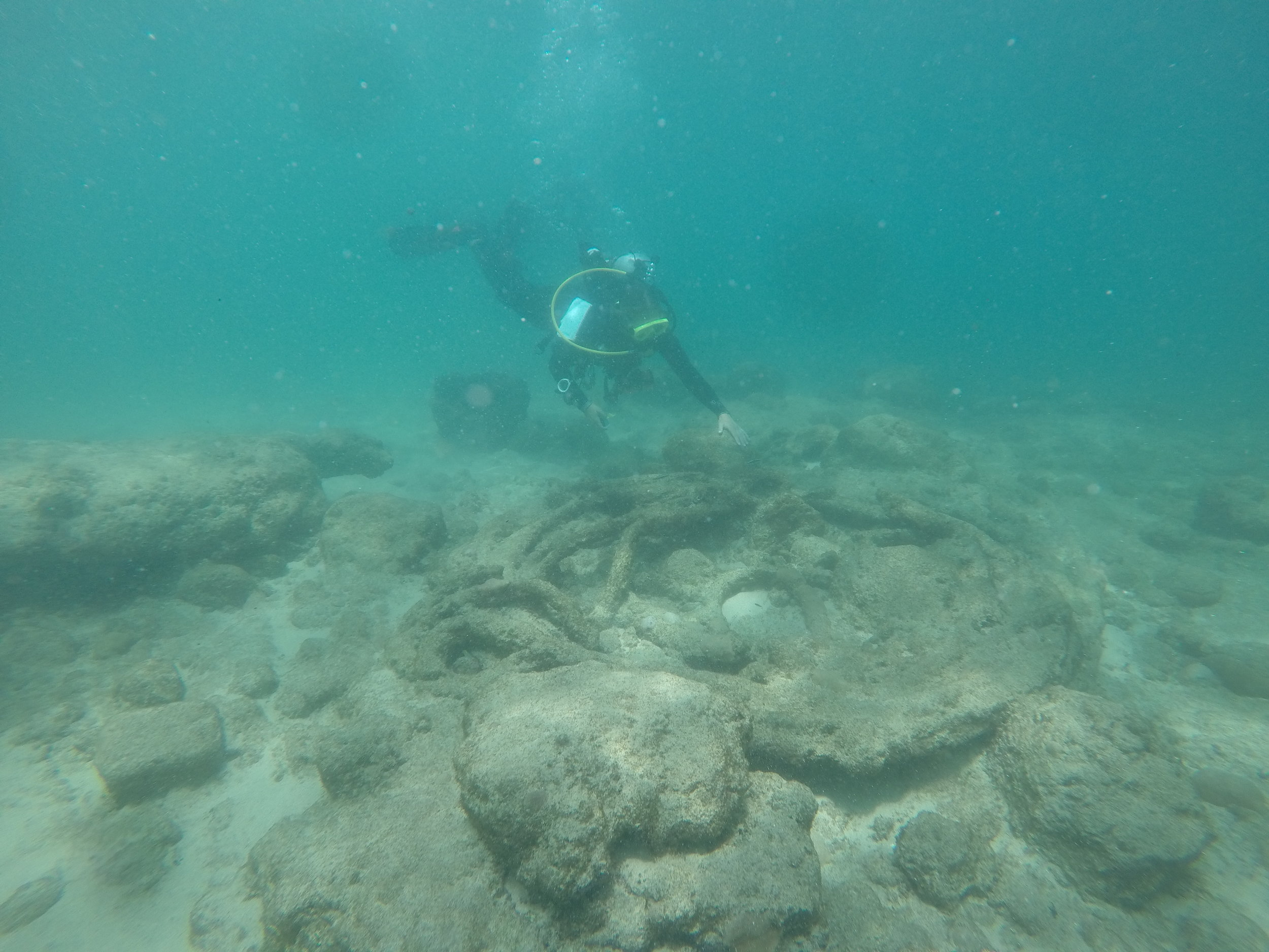 shipwreck woodford hill turtle point dominica west indies salt dive