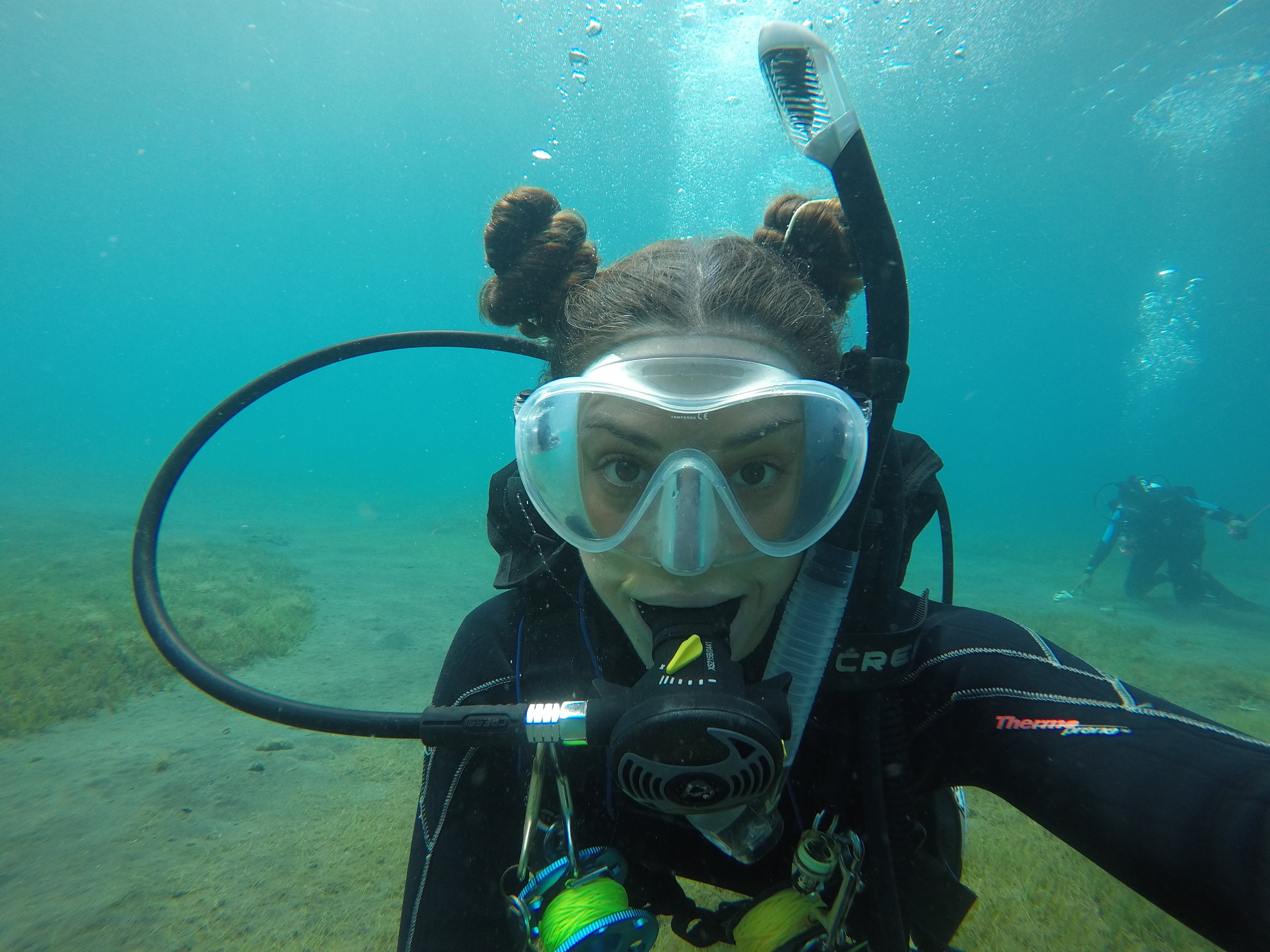 kayla dives padi scuba instructor learn to dive in dominica tips and tricks for new divers.JPG