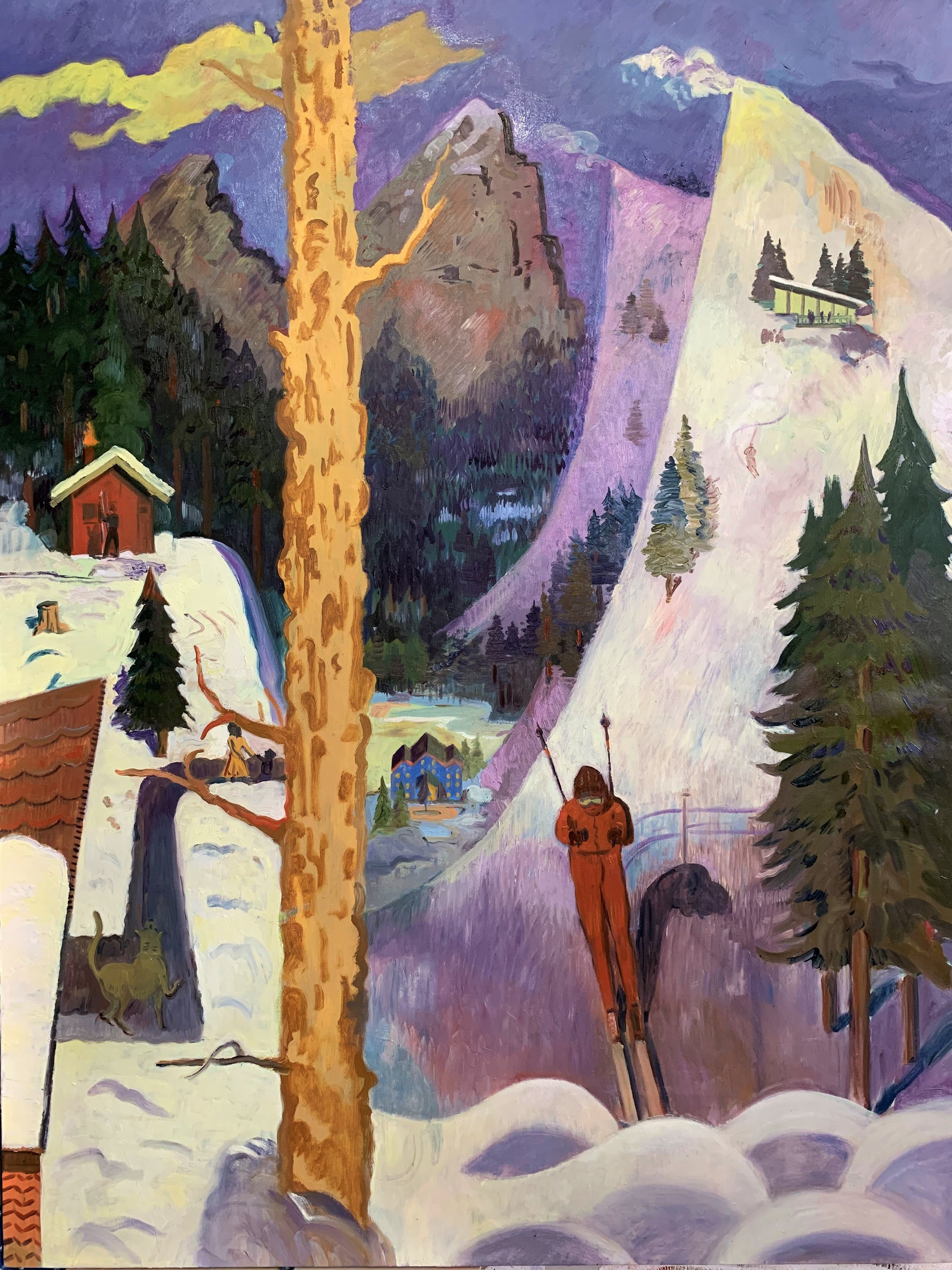 Aaron Zulpo_ The Skiier_ 2018_ 48 x 36 inches.jpeg