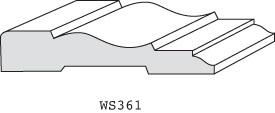 "WS361 - 1/2"" x 2-1/2"""