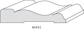 "WS491 - 3/4"" x 3-1/2"""