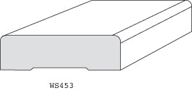 "WS453 - 3/4"" x 2-1/2"""