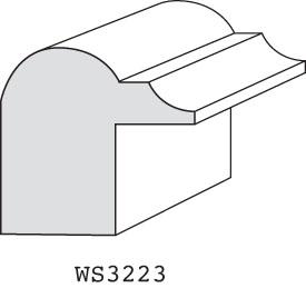 "WS223 - 1-1/4"" x 1-1/4"""