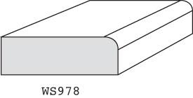 "WS978 - 1/2"" x 1-1/2"""